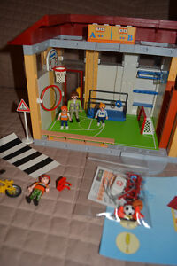 Playmobil School, Gym & Crossing Guard Kingston Kingston Area image 3
