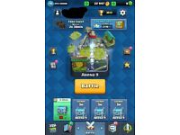 Clash Royale account (offer price)
