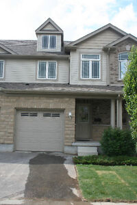 New and Clean GUELPH Townhouse for Rent