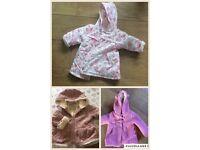 Baby girl coats/jackets