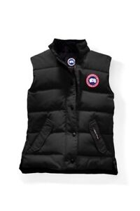 Women's Canada Goose Freestyle Vest Black XS