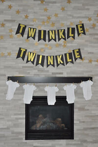 Twinkle Twinkle birthday or shower decor