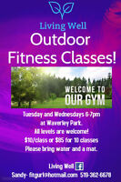 Outdoor Fitness Classes!