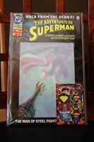 1993 Superman Back From The Dead Comic #500