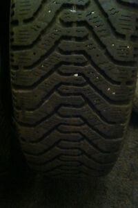 TWO. 185/65/14. GOODYEAR TIRES.  $50.