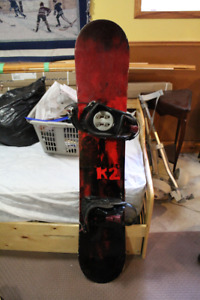 Selling K2 Snowboard and Boots