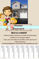 Daycare- Kingston West end