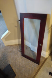 Wine cabinetry glass doors