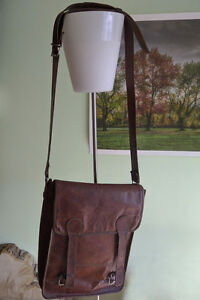 Full Leather Funky Laptop Messenger Bag Briefcase
