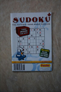 Sudoku Books • $1 each