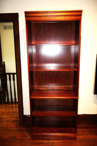 Solid Wood Deep Bookcase