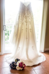 Beautiful plus size wedding dress