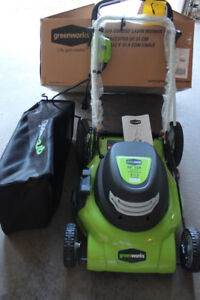 Brand New Mower.  Taken out of box for photos only.  Moving Sale