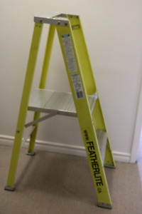 FeatherLite 300lb, 4ft ladder