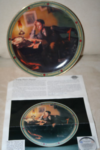 5 Norman Rockwell Collector Plates in excellent condition