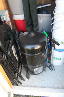 Grill Pro 16-Inch Smoker and BBQ