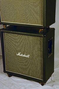 Vintage 1973 Marshall 4 X 12 straight cab