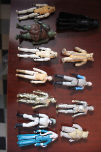VINTAGE KENNER STAR WARS FIGURES CHILDHOOD COLLECTION $50