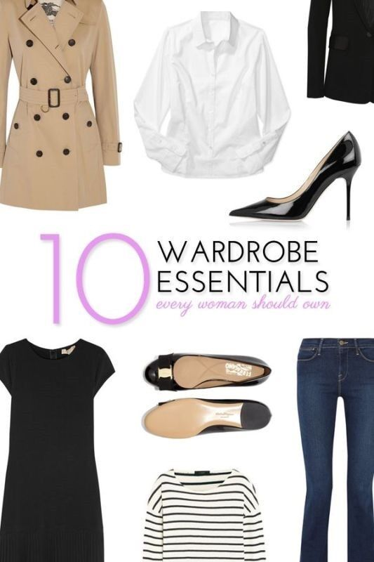 10 Wardrobe Essentials Every Woman Should Own