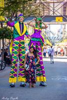 Stilt Walkers for all types of Events