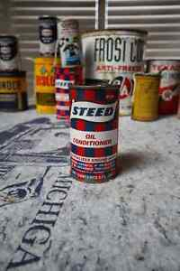 STEED OIL CONDITIONER TIN CAN