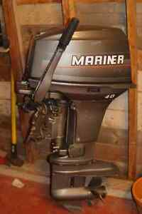 40hp Mariner outboard motor