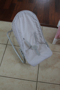Pottery Barn Baby Doll Bouncy Seat and Booster Chair