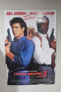 Lethal Weapon poster/hat for sale