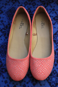 Pink flats and Mint flats -  Women's Size 11