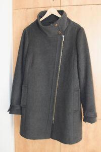 Manteau d'hiver de maternité en laine