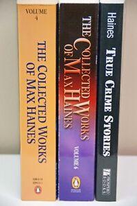 Max Haines Books