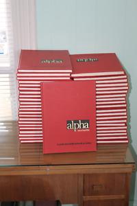 Encyclopédie 43 volumes, Alpha.