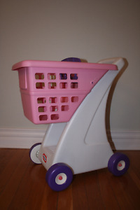 Little Tikes Toy Shopping Cart Pink