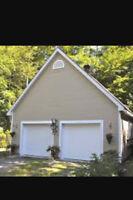 Garage double a louer secteur Deux-Montagnes