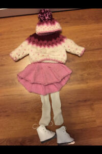 Dolls Skating Outfit