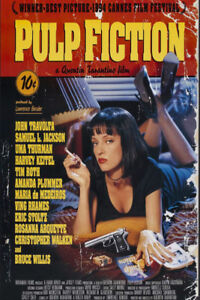 Laminated Movie Poster - Pulp Fiction