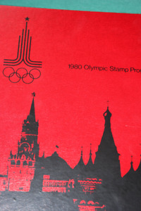 1980 Olympic Stamp Collection