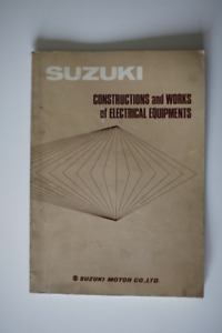 SUZUKI Moto Electrical manual 1960s