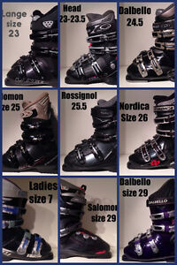 LOOK Downhill Ski Boots $30 to $100