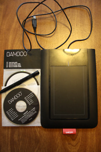 *Reduced Price -Wacom Bamboo Pen Tablet