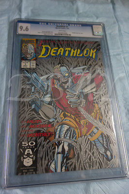 Deathlok #1 (Jul 1991, Marvel) CGC GRADED 9.6 WHITE PAGES