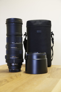 Sigma 150-500 mm for Canon