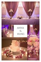 Beautiful and Affordable Wedding and Event Decor