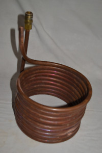 """1/2"""" Copper Wort Chiller For Home Brewing Beer"""
