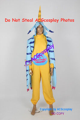 Digimon Adventure Gabumon cosplay costume male version include boots covers](Gabumon Cosplay)