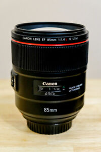 Canon 85mm f1.4 IS Lens