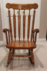 Full Size Solid Wood Rocking Chair