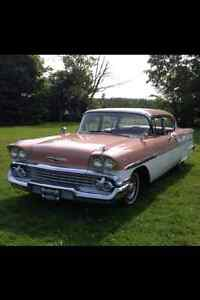PRICE REDUCED!!!  1958 CHEV BEL-AIR