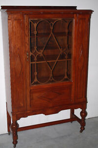 Vintage Gibbard Solid Walnut Hutch