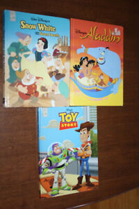 3 Disney Books in english for 15$
